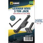 German WWII 3 ton Jack 1:35