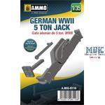 German WWII 5 ton Jack 1:35
