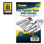 1/35 US Pioneer Tools with clamps