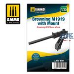 1/35 Browning M1919 with Mount