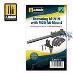 1/35 Browning M1919 with M20 AA Mount