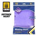 SOFTOUCH VELVET MASKING SHEETS 280x195 mm