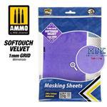 SOFTOUCH VELVET Masking Sheet 1mm Grid 290x145