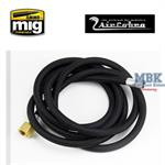 6 foot braided air hose 1/8 inch X 1/4""