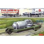 FAB-5000 M54 Soviet High explosive Bomb