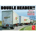 Double Header Tandem Van Trailer