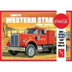 White Western Star Semi Tractor (Coca Cola)