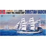 3-Mast Full-Rigged Ship Christian Radich  1/350