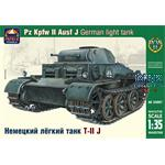 German light tank Pz Kpfw II Ausf J