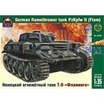 German flamethower tank Pz Kpfw II Flamm