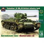 "British inf. tank ""Valentine"" XI Mk.III"