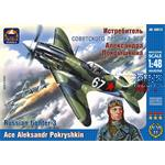 Russian fighter 3. Ace Aleksandr Pokryshkin