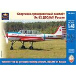 Yakovlev Yak-52 erobatic training aircraft DOSAAF
