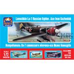 Lavochkin La-7 Russian fighter. Ace Ivan Kozhedub