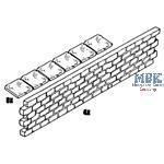 Dockmauern und Deckplatten / Dockwalls