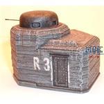 Ringstand 2cm Flak im Pz-Turm / Flak bunker 2cm