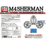 M4 Sherman VVSS Suspension Set C Initial