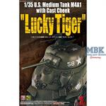 "US Medium Tank M4A1 w/Cast Cheek ""Lucky Tiger"""