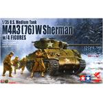 Sherman M4A1  (76) mm W w/Figures   LIMITIERT