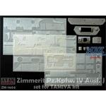 Zimmerit für Panzer IV Ausf. J (Tamiya) 1/16