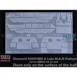Zimmerit für Panther A Late MAN Pattern