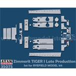 Zimmerit Tiger I late Production RFM
