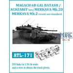 Gal Batash / Achzarit late / Merkava Mk.2D track
