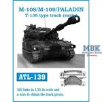 M-108/M109/PALADIN T-136 type track (early)