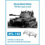 M48/M60/M88 T97E2 type track