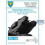 Grouser Spud for Mk II / Mk IV / Mk V / Mk IX