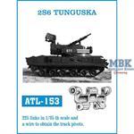 2S6 Tunguska tracks