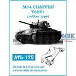 M24 Chaffee T85E1 (rubber type)