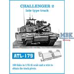 Challenger 2 late type tracks