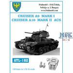 Cruiser A9 Mk.I, Cruiser A10 Mk.II ACS