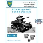 Stuart light tank T36E6 type track