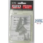 Handfeuerwaffen Set 1 / Hand weapons set  1   1/72
