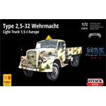 Type 2,5-32 Wehrmacht Light Truck 1.5t Europe 1/72
