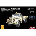 Type 2,5-32 Wehrmacht Light Truck 1.5t Europe 1/72