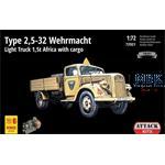Type 2,5-32 Wehrmacht l. Truck 1.5t Africa  1/72