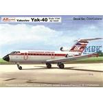 Yakovlev Yak-40 CSA/ Cubana