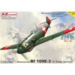 """Messerschmitt Bf 109E-3 """"In Swiss Service"""""""
