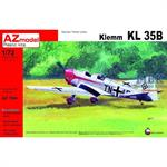 Klemm Kl-35B. Decals for Luftwaffe 1943