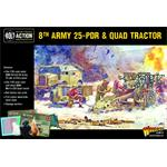 Bolt Action: 8th Army 25 pounder, Quad & Limber