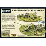 Bolt Action: Heer Pak 43 anti-tank gun
