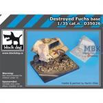 Destroyed Fuchs base