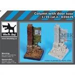 Column with door base