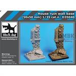 Hause ruin wall base