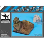 Destroyed BT-7 Base