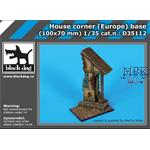 House corner (Europe) base 100x70mm