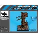 Stalingrad factory ruin base 85x60mm